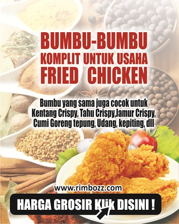 bumbu ayam kentucky crispy bumbu fried chicken franchise murah