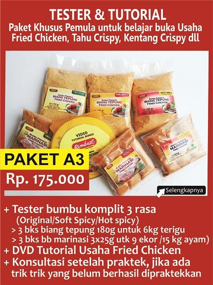 tepung fried chicken kentucky