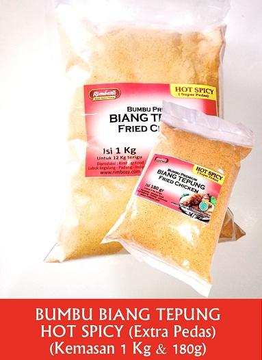 bumbu biang tepung kentucky hot spicy
