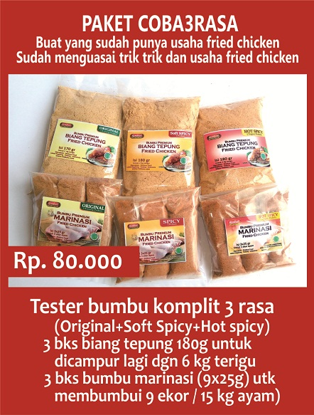 tepung fried chicken kentucky