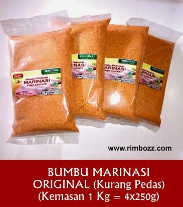 tepung marinasi ayam kentucky crispy hot