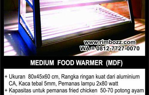 showcase food warmer hot snack display XL