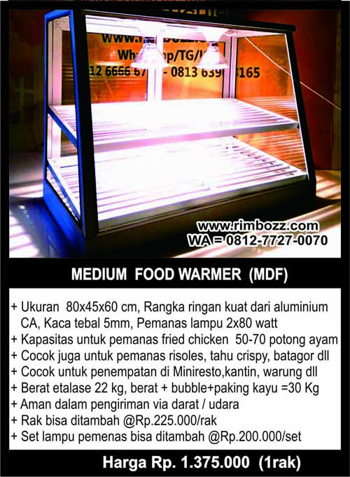 showcase food warmer hot snack display XL