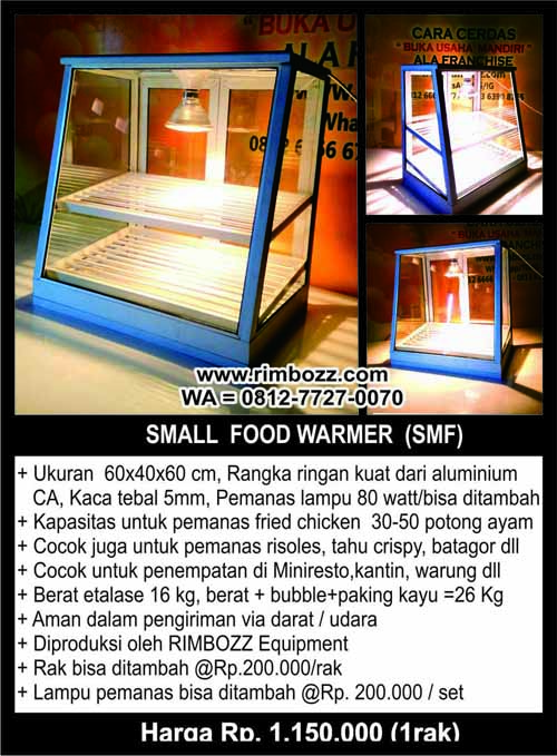 showcase food warmer hot snack display fried chicken S